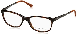 Ralph Lauren Women's RL6135 Eyeglasses Dark Havana 52mm