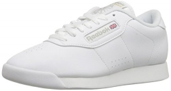 Reebok Women's Princess Aerobics Shoe,White, 8 M.