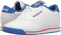 Reebok Women's Princess Aerobics Shoe,White, 8 M.