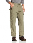 Chartou Men's Active Elastic-Waist Loose Fit Cargo Pants Trousers (X-Large, Army Green) – mens cargo pants online