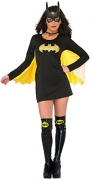 DC Comics Deluxe Batgirl Adult Costume, Medium.
