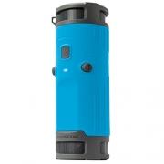 SCOSCHE BoomBottle+ Rugged Waterproof Portable Wireless Bluetooth 4.0 Speaker – Dual 360-Degree 12 Watt 50mm Speakers with Subwoofer and Indoor/Outdoor EQ Functions – Black/Space Gray (BTBPBKSGY)