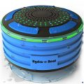 Shower Radios - Hydro-Beat Illumination. IPX7 portable fully Waterproof Bluetooth Speaker with...
