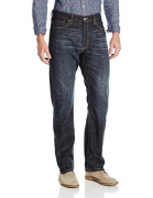 Signature by Levi Strauss & Co Men's Slim Straight Jean, Wright, 32 x 32