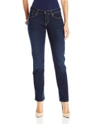 Signature by Levi Strauss & Co Women's Straight Jeans, Cosmos, 12 Medium
