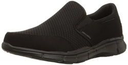 Skechers Sport Men's Equalizer Persistent Slip-On Sneaker,Black,9.5 M US.