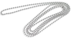 Reve Jewelry 3mm Stainless Steel Franco Chain Necklace for Men and Women, 20-30 inches (20)