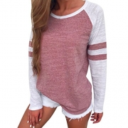 IEason Women top, Women Hoodie Sweatshirt Lace Up Long Sleeve Crop Top Coat Sports Pullover Tops (XL, Black)