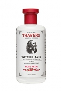 Thayers Alcohol-Free Rose Petal Witch Hazel with Aloe Vera, 12 Fluid Ounce.