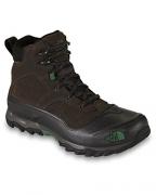 The North Face Mens Snowfuse Ganache Brown/Sullivan Green Boots 12 D – Medium.