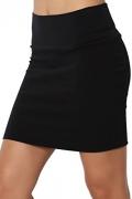 Calvin Klein Women's Petite Fashion Skirt, Black, 4 Petite