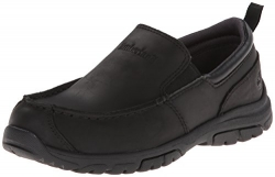 Timberland Discovery Pass Moc Toe Moc Toe Slip-On (Toddler/Little Kid/Big Kid),Black,3 M US Little Kid.