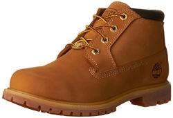 Timberland Women's 6-Inch Premium Boot,Wheat,7.5 M US.