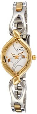 Titan Women's 2455BM01 Raga Jewelry-Inspired Two-Tone Watch