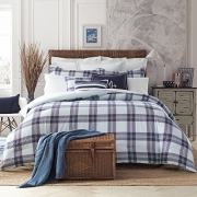 Tommy Hilfiger 22050949TH004 Th Surf Plaid Comforter Set Th Surf Plaid, Blue, Full – Queen