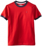 Tommy Hilfiger Big Boys' Core Crew Neck Ken Tee, Regal Red, X-Large (20)