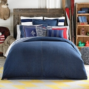 Tommy Hilfiger Denim Duvet Full/Queen Blue