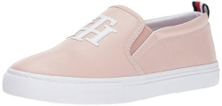 Tommy Hilfiger Women's Lucey Sneaker, Blush, 7 Medium US