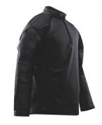 TRU-SPEC Shirt, Tact Resp blk P/C R/S, Black, Large/Large