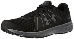Under Armour Men's Micro G Assert 6, Black/White/White, 10.5 D(M) US.