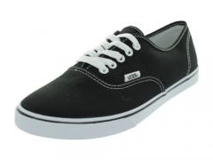 Vans Unisex VANS AUTHENTIC LO PRO SKATE SHOES 7 Men US / 8.5 Women US ( BLACK/TRUE WHITE ).