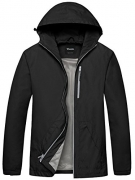 English Laundry Men's Hooded Softshell Jacket, Black, L