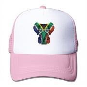 South Africa Embroidered Flat Visor Snapback Hat Black – Men's Hat Best Price