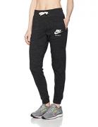 Women's Nike Sportswear Gym Vintage Pant Black/Sail Size X-Large