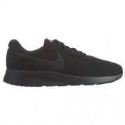 Womens Nike Tanjun Shoe Black/Black/White Size 8.5 M US