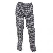 Women's 'St. Tropez' Straight Fit Basic Pants,NAVY,4
