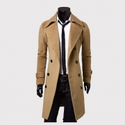 New Arrival Autumn Jacket Trench Coat Men